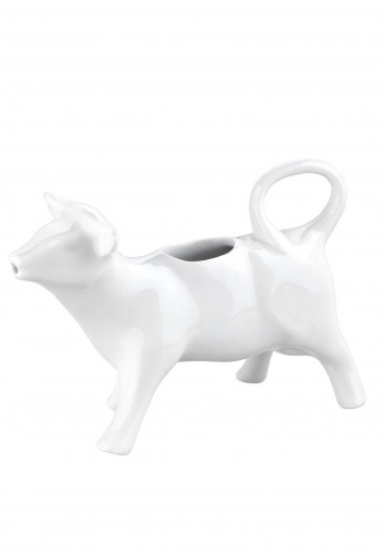 Newbridge Whiteware Cow Milk Jug 140ml