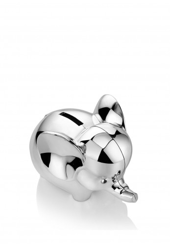 Newbridge Elephant Money Bank, Silver