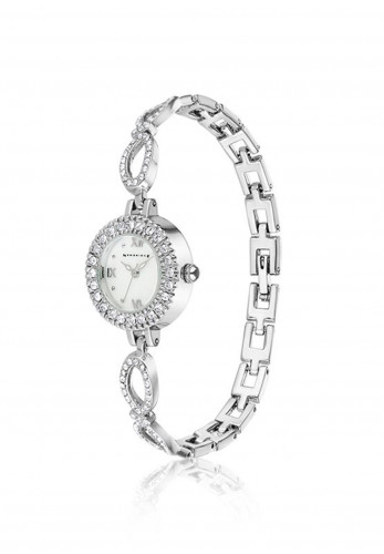 Newbridge Ladies Link Bracelet Watch, Silver