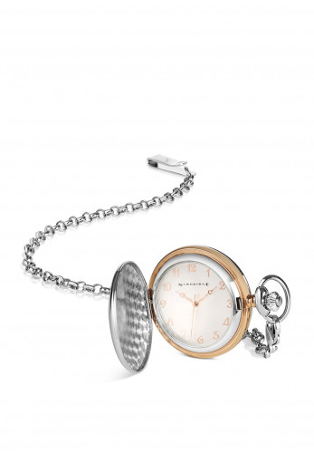 Newbridge Two Tone Pocket Watch