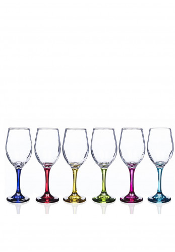 Newgrange Living Rainbow 6 Pack Wine Glasses