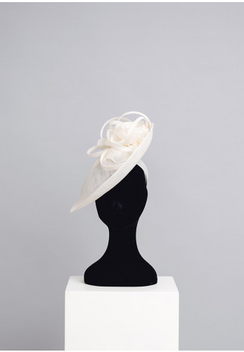 Gigi Headwear Large Special Occasion Head Piece, Ivory