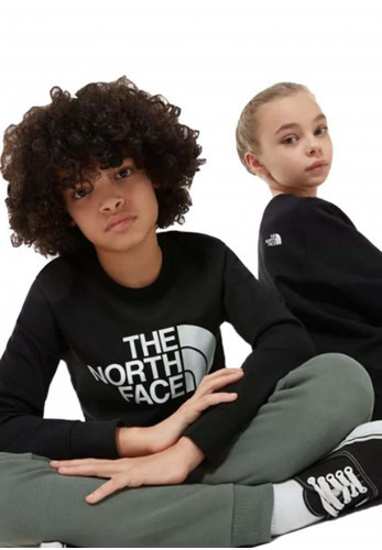 The North Face Kids Drew Peak Crew Jumper, Black