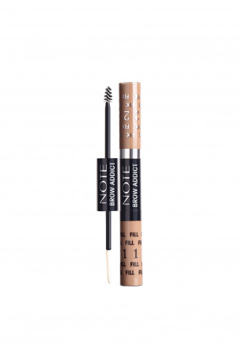 Note Brow Addict Tint & Shaping Gel, 01 Dark Blonde