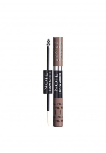Note Brow Addict Tint & Shaping Gel, 03 Dark Brown