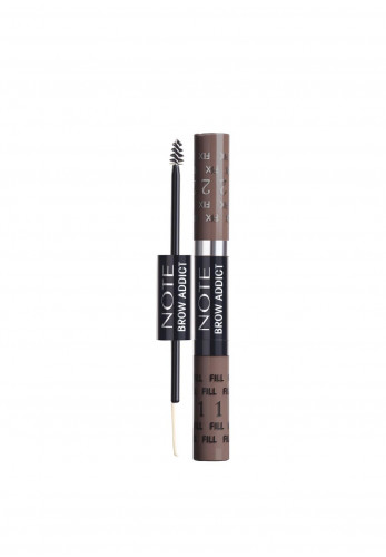 Note Brow Addict Tint & Shaping Gel, 04 Grey Brown