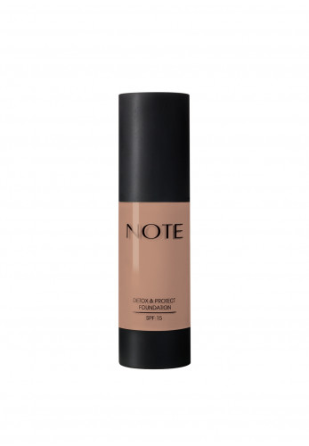 Note Detox and Protect Foundation 106 Soft Henna