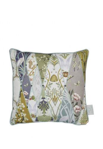 The Chateau Wallpaper Museum Feather Cushion, 43 x 43cm