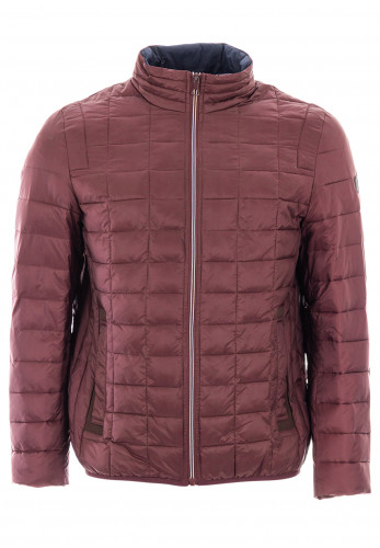 White Label Harris Quilted Jacket, Wine