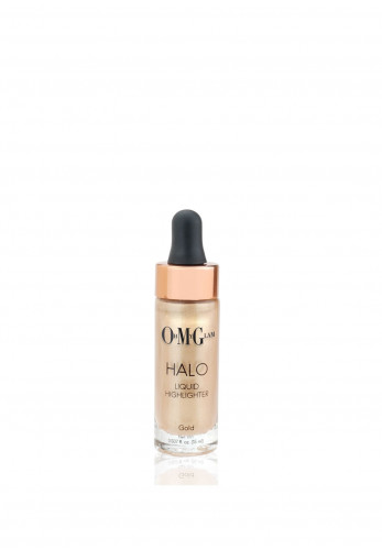 OMG Oh My Glam Halo Liquid Highlighter, Gold