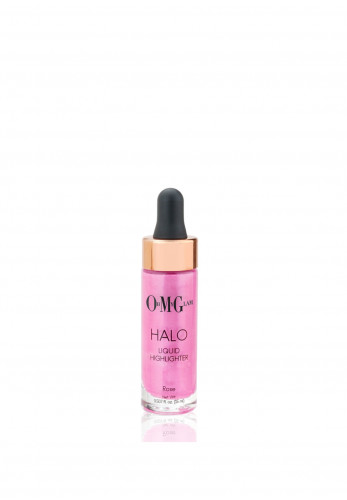 OMG Oh My Glam Halo Liquid Highlighter, Rose