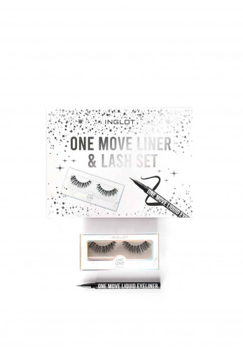 Inglot One Move Liner and Lash Set