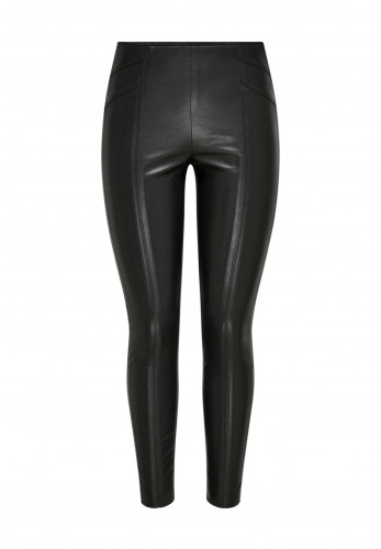 Only Jolee Faux Leather Leggings, Black