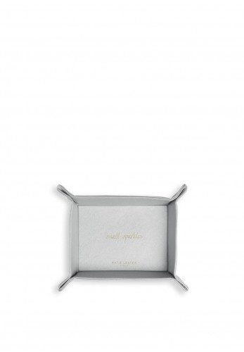 Katie Loxton Small Sparkles Organising Tray, Silver