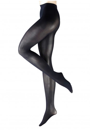 Falke Pure Matt 50 Denier Tights, Marine