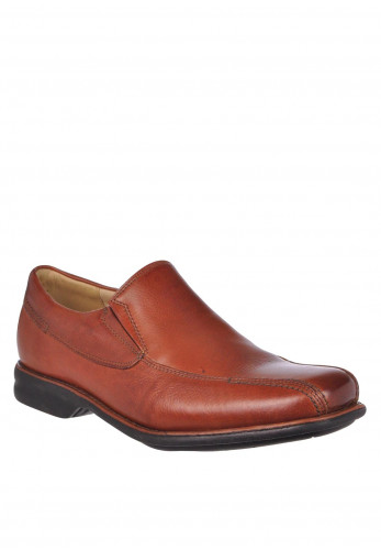 Anatomic & Co Mens Belem Leather Slip-On Shoe, Tan