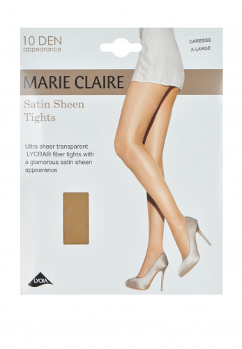 Marie Claire 10 Denier Satin Sheen Tights, Caresse