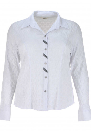 Avalon Long Sleeve Blouse, White