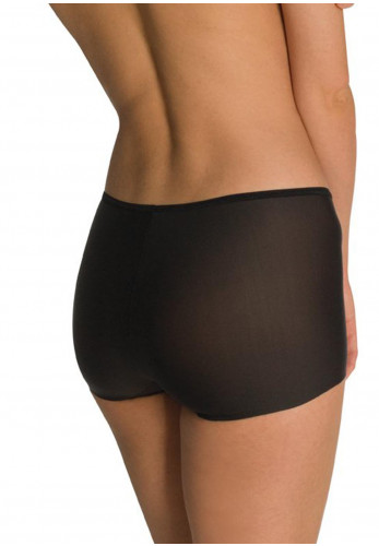 Naomi & Nicole Edgies Boyshort, Black