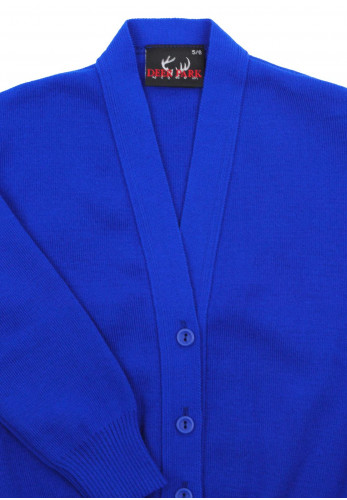 Deer Park School Cardigan, Blue