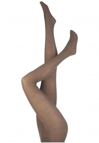 Levante Plain Wool 100 Denier Tights, Sherry