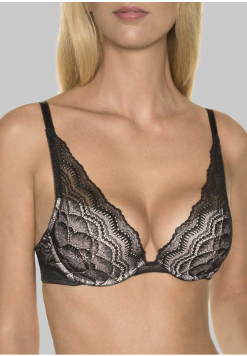 Wonderbra My Pretty Push Up Lace Bra, Black