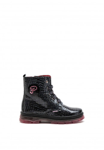Pablosky Croc Style Boots, Grey