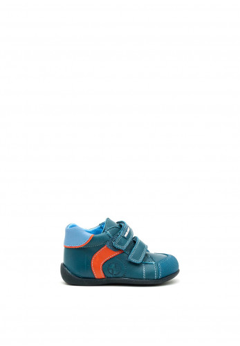 Pablosky Baby High Top Boots, Blue