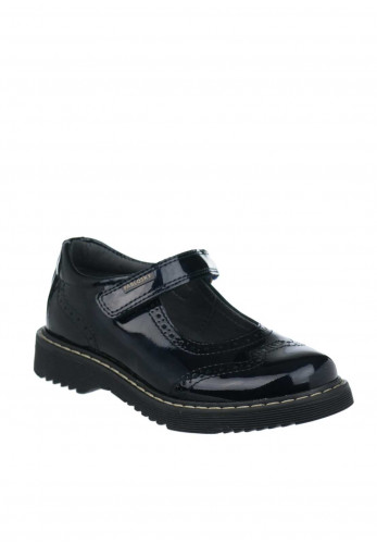 Pablosky Girls Patent Leather Mary Jane School Shoes, Navy