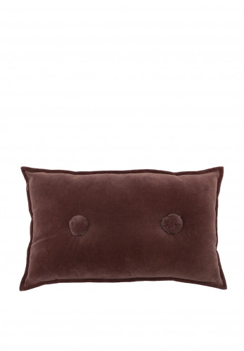 Paoletti Bobble 30cm x 50cm Cushion, Rock Rose