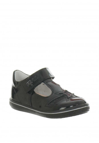 Pepino Patent Leather T-Bar Shoes, Black