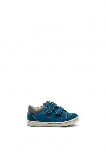 Pepino Boys Timmy Suede Velcro Strap Shoes, Blue