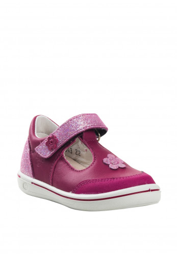 Pepino Baby Girls Mandy Leather Shoes, Pink