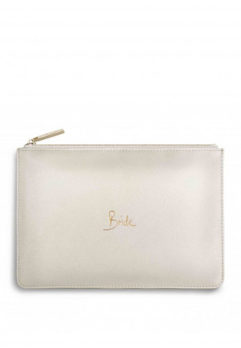 Katie Loxton Bride Pouch Bag, White