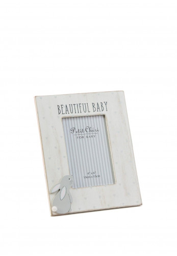 Petit Cheri Beautiful Baby Photo Frame, 4 x 6