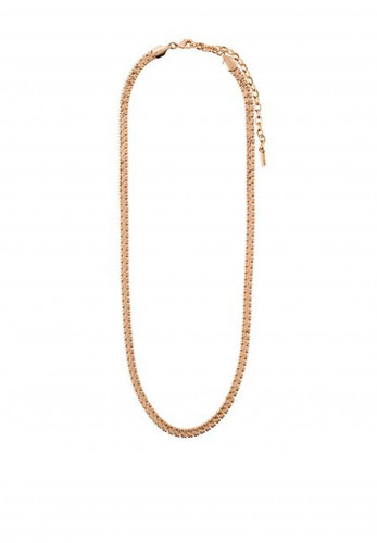Pilgrim Legacy Traditional Chain Necklace, Rose Gold
