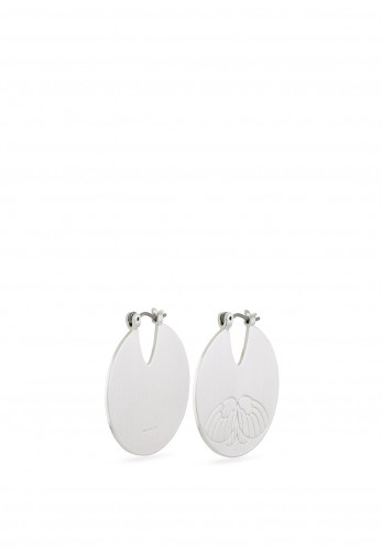 Pilgrim Frigg Disc Earrings, Silver