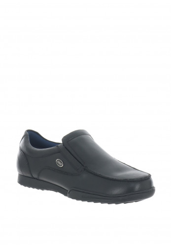 Pod Pegasus Leather Loafer Shoe, Black