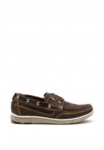 Paul O Donnell Sail Boat Shoe, Brown