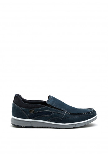 Paul O Donnell Track Slip On Shoe, Navy