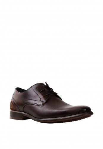 Pope by Brent Horeke Leather Shoe, Mahogany