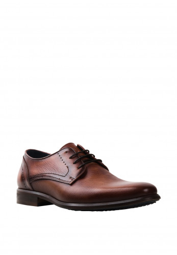 Pope by Brent Horeke Leather Shoe, Brown