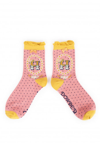 Powder A-Z Ankle Socks, H