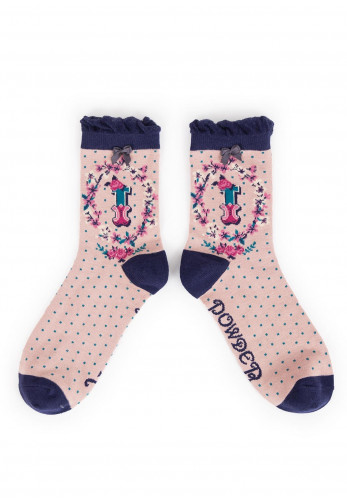 Powder A-Z Ankle Socks, I