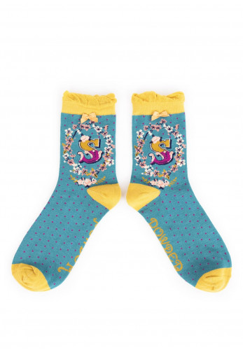 Powder A-Z Ankle Socks, S