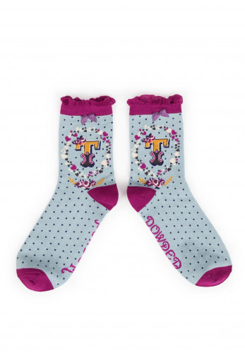 Powder A-Z Ankle Socks, T