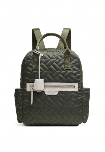 Radley Finsbury Park Quilted Backpack, Khaki