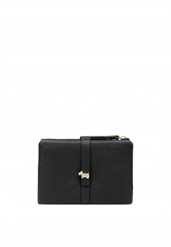 Radley West View Small Button Strap Wallet, Black