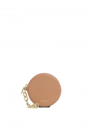 Radley Pennyfields Leather Coin Purse, Brown