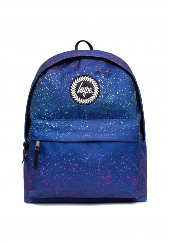 Hype Rainbow Splat Backpack, Blue Multi